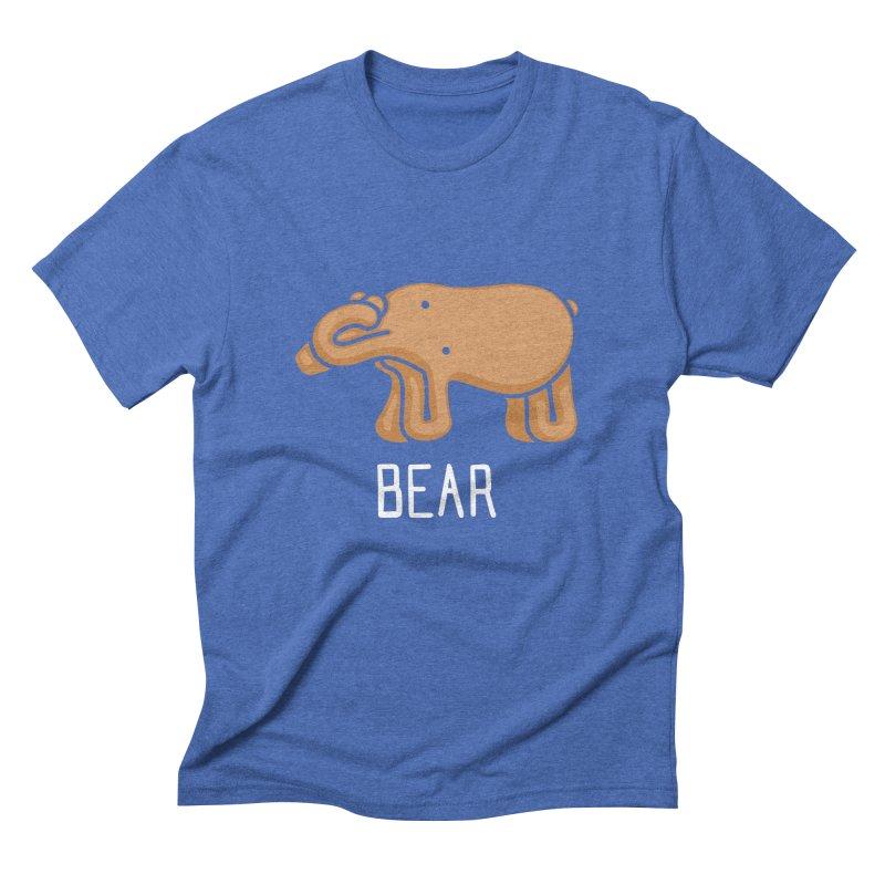 Bear (Not an Octopus) Men's Triblend T-shirt by Gyledesigns' Artist Shop