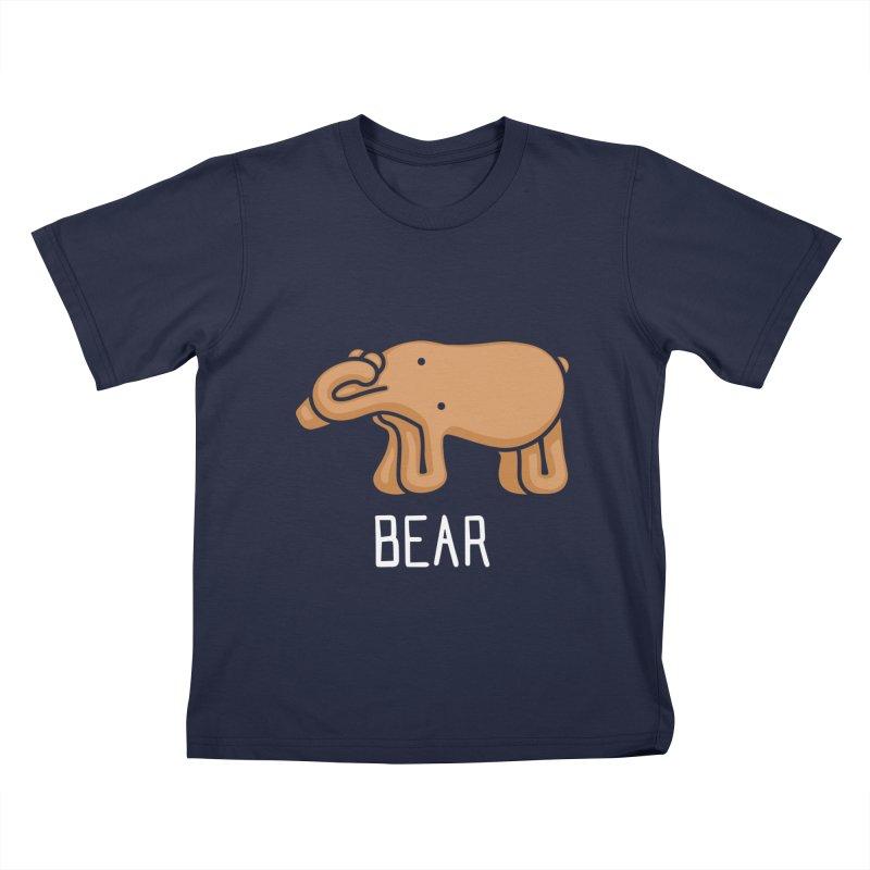 Bear (Not an Octopus) Kids T-shirt by Gyledesigns' Artist Shop