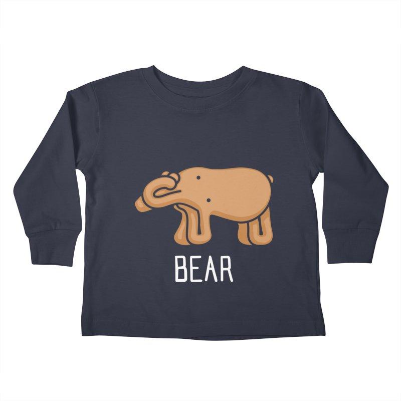 Bear (Not an Octopus) Kids Toddler Longsleeve T-Shirt by Gyledesigns' Artist Shop