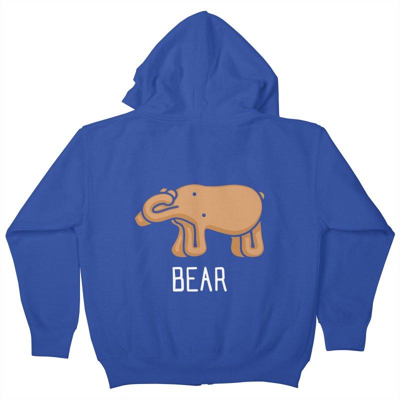 Bear (Not an Octopus) Kids Zip-Up Hoody by Gyledesigns' Artist Shop
