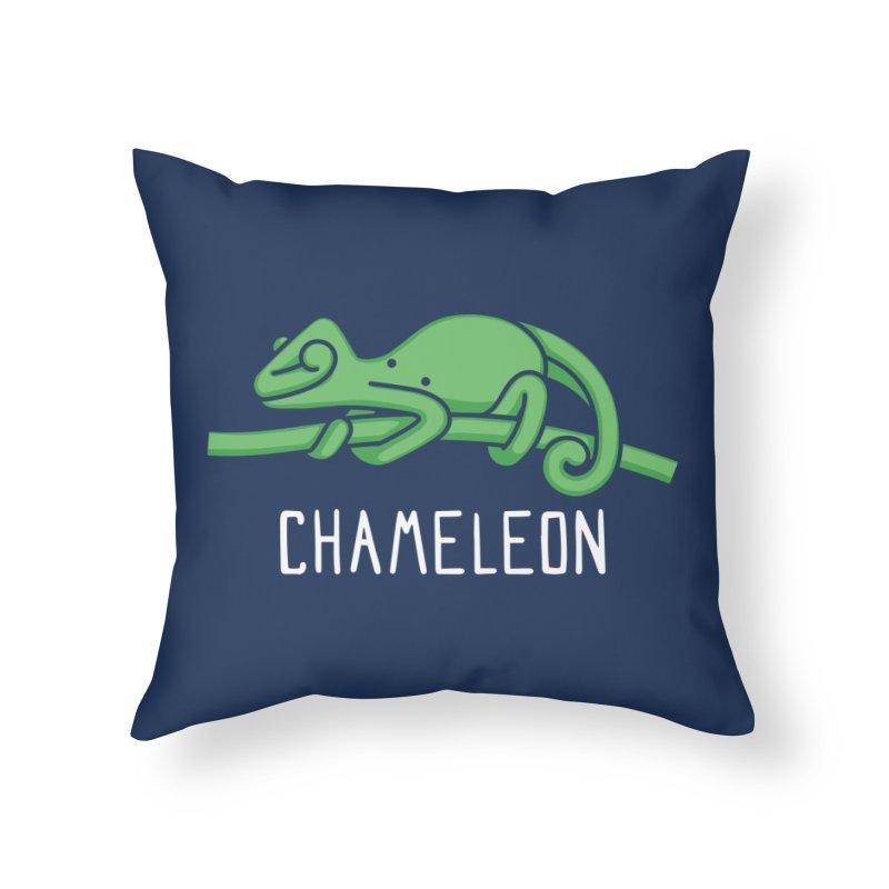 Chameleon (Not an Octopus) Home Throw Pillow by Gyledesigns' Artist Shop