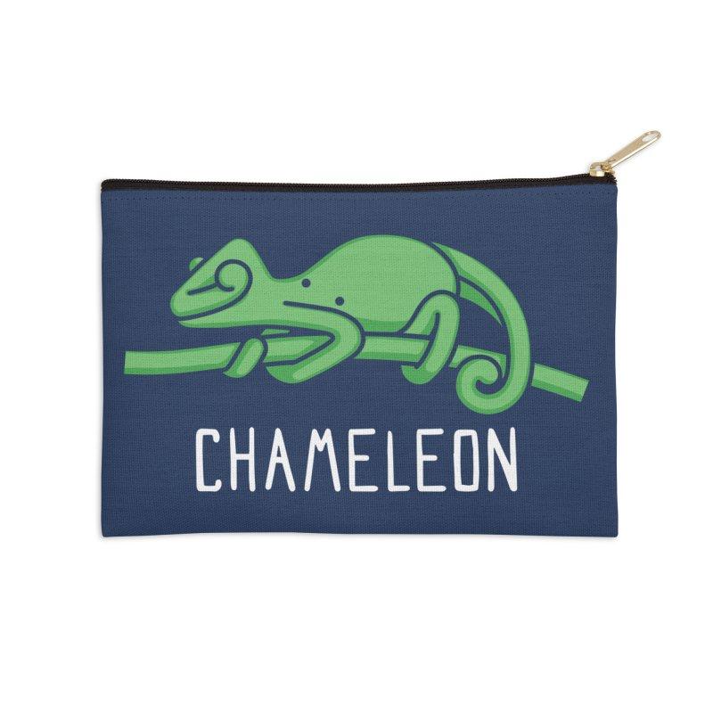 Chameleon (Not an Octopus) Accessories Zip Pouch by Gyledesigns' Artist Shop