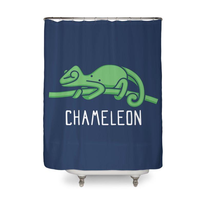 Chameleon (Not an Octopus) Home Shower Curtain by Gyledesigns' Artist Shop