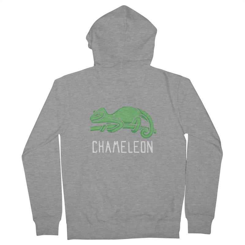 Chameleon (Not an Octopus) Men's Zip-Up Hoody by Gyledesigns' Artist Shop