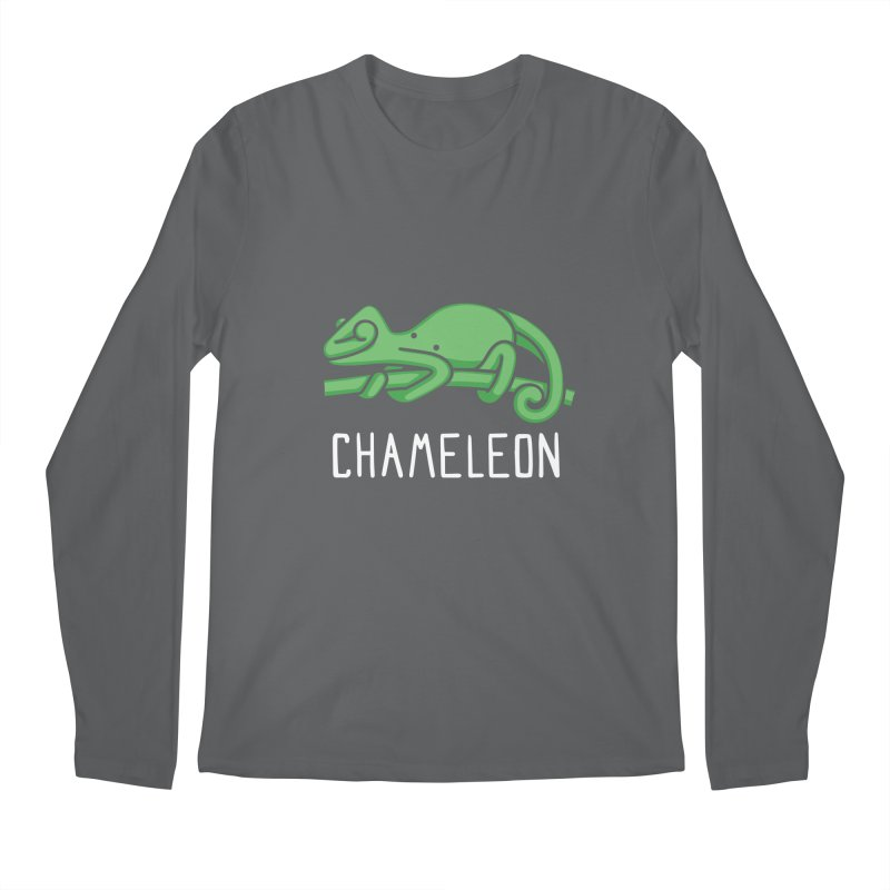 Chameleon (Not an Octopus) Men's Longsleeve T-Shirt by Gyledesigns' Artist Shop