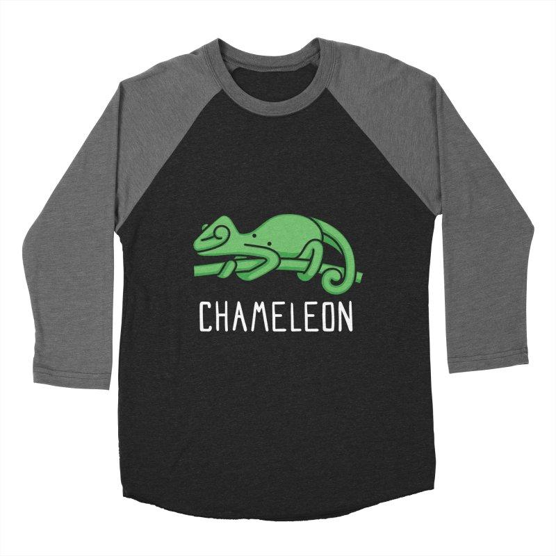Chameleon (Not an Octopus) Women's Baseball Triblend T-Shirt by Gyledesigns' Artist Shop