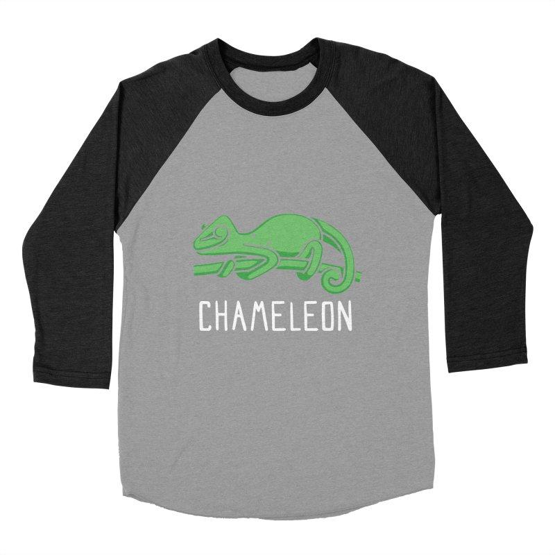 Chameleon (Not an Octopus) Men's Baseball Triblend T-Shirt by Gyledesigns' Artist Shop