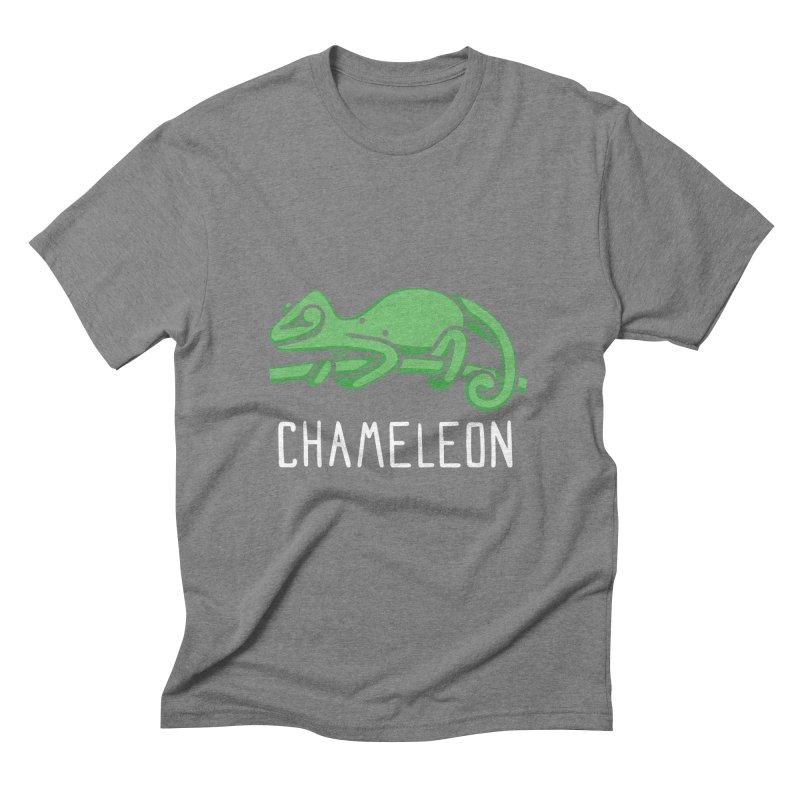 Chameleon (Not an Octopus) Men's Triblend T-shirt by Gyledesigns' Artist Shop