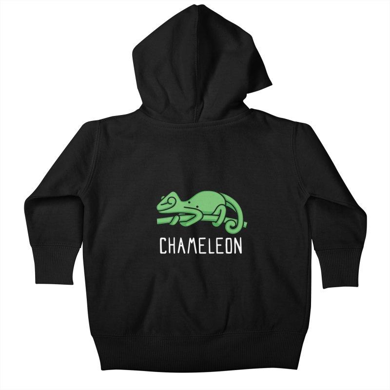 Chameleon (Not an Octopus) Kids Baby Zip-Up Hoody by Gyledesigns' Artist Shop