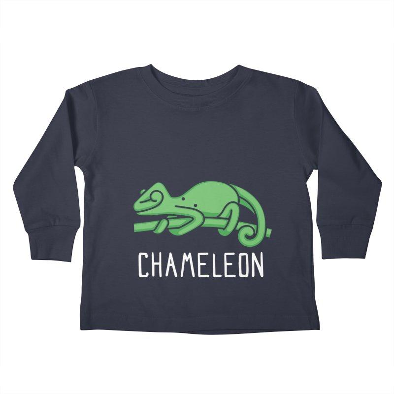 Chameleon (Not an Octopus) Kids Toddler Longsleeve T-Shirt by Gyledesigns' Artist Shop
