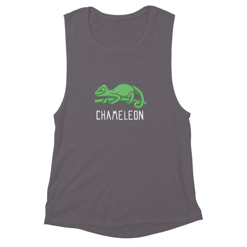 Chameleon (Not an Octopus) Women's Muscle Tank by Gyledesigns' Artist Shop