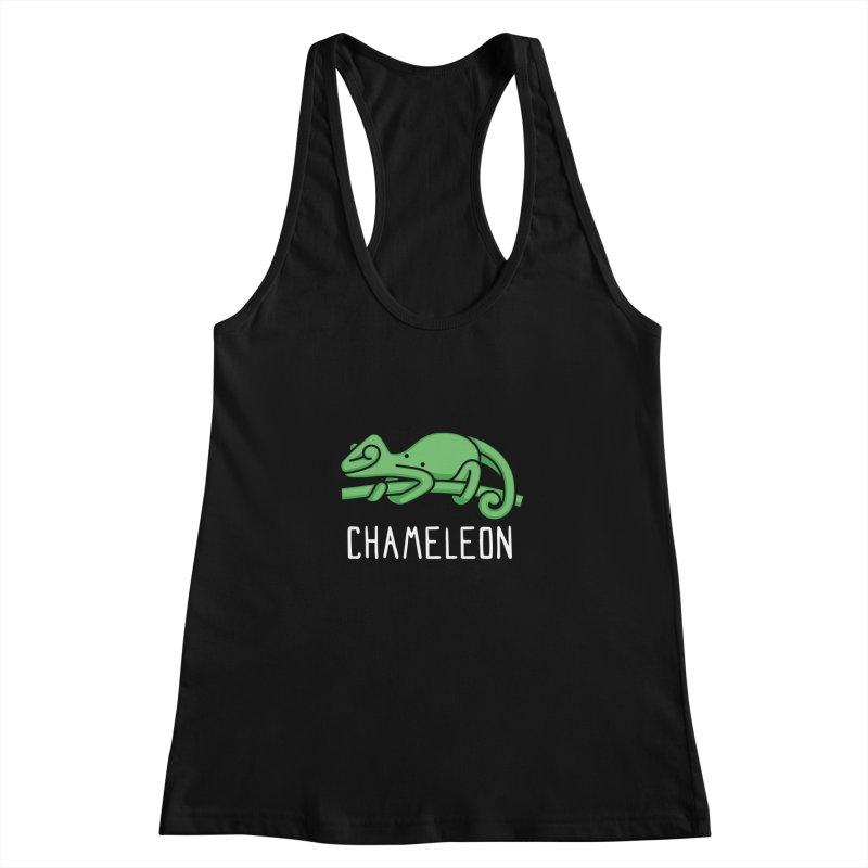 Chameleon (Not an Octopus) Women's Racerback Tank by Gyledesigns' Artist Shop