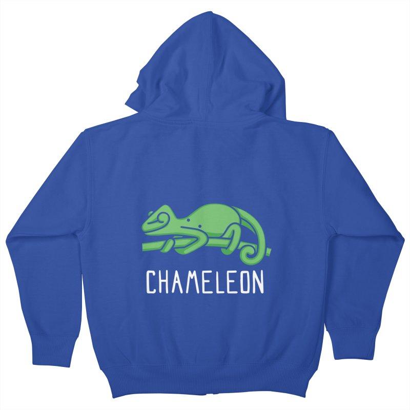 Chameleon (Not an Octopus) Kids Zip-Up Hoody by Gyledesigns' Artist Shop