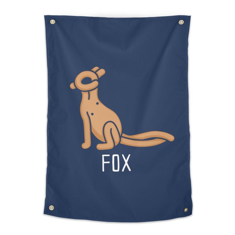 Fox (Not an Octopus) Home Tapestry by Gyledesigns' Artist Shop