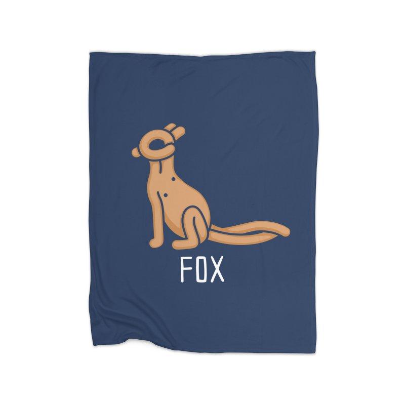 Fox (Not an Octopus) Home Blanket by Gyledesigns' Artist Shop