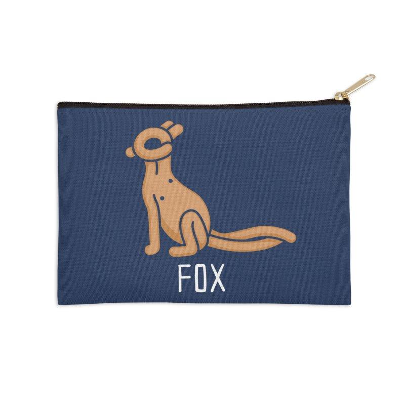 Fox (Not an Octopus) Accessories Zip Pouch by Gyledesigns' Artist Shop