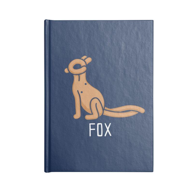 Fox (Not an Octopus) Accessories Notebook by Gyledesigns' Artist Shop