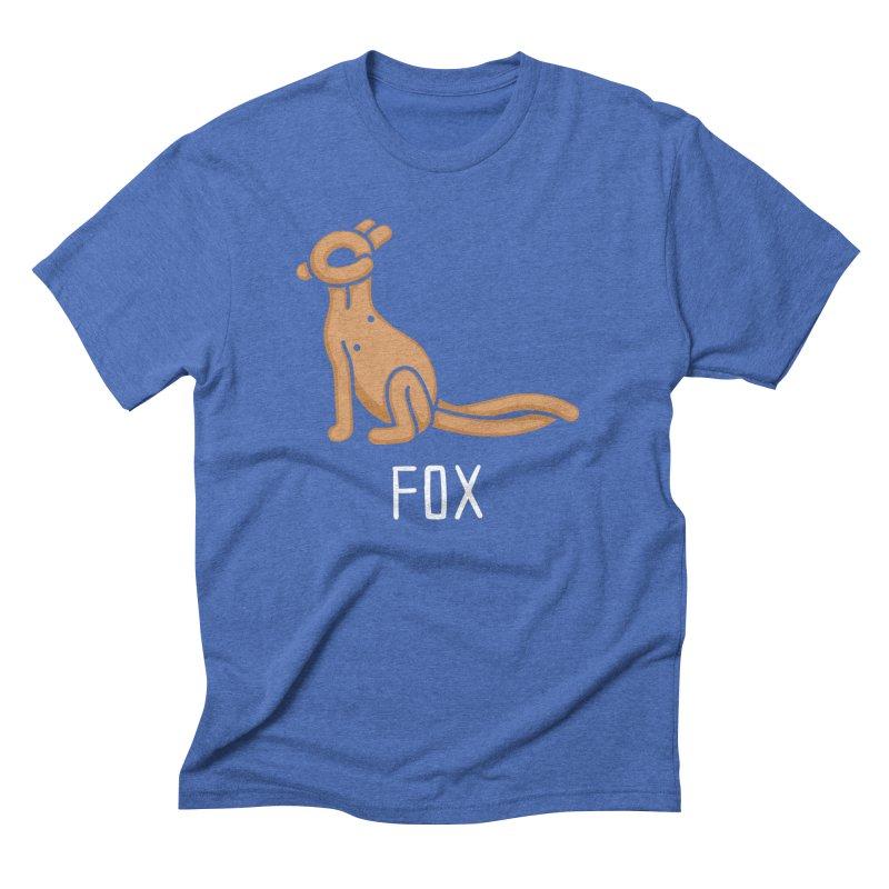 Fox (Not an Octopus) Men's Triblend T-shirt by Gyledesigns' Artist Shop