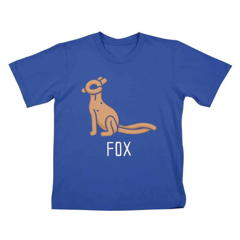 Fox (Not an Octopus) Kids T-shirt by Gyledesigns' Artist Shop
