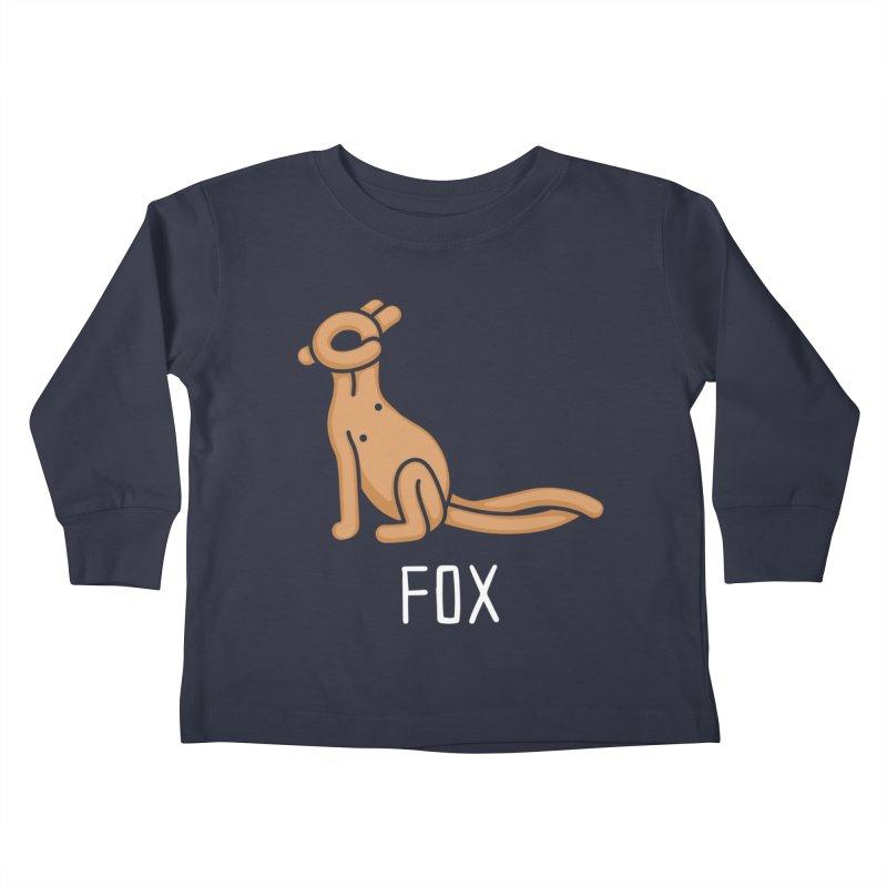 Fox (Not an Octopus) Kids Toddler Longsleeve T-Shirt by Gyledesigns' Artist Shop