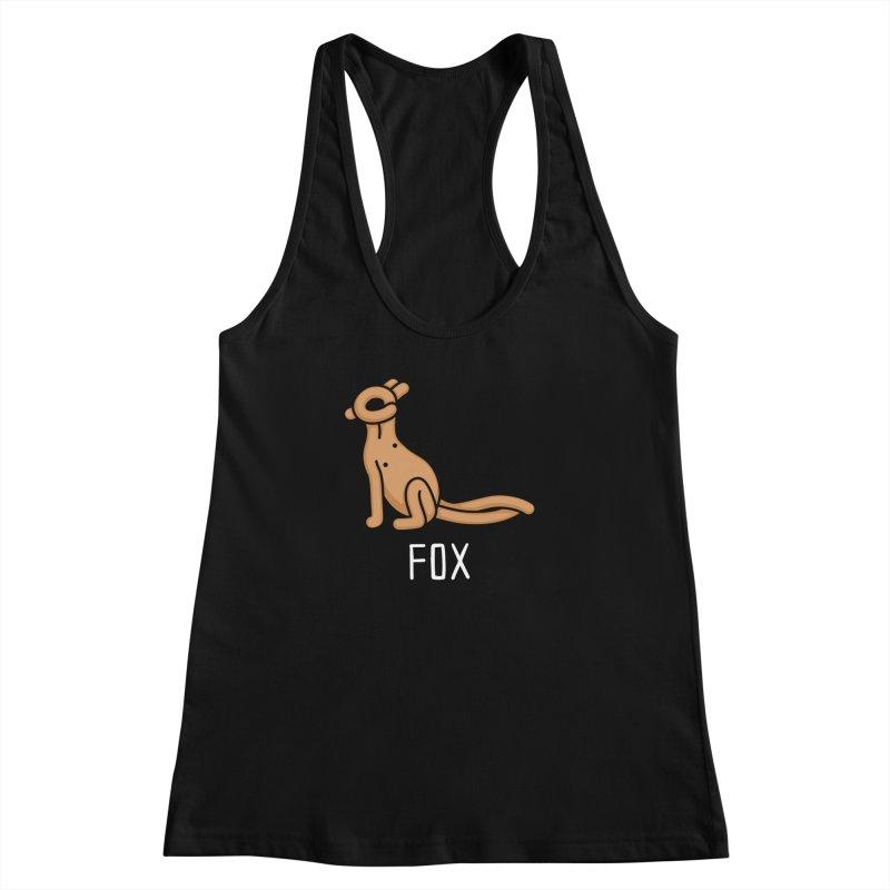 Fox (Not an Octopus) Women's Racerback Tank by Gyledesigns' Artist Shop