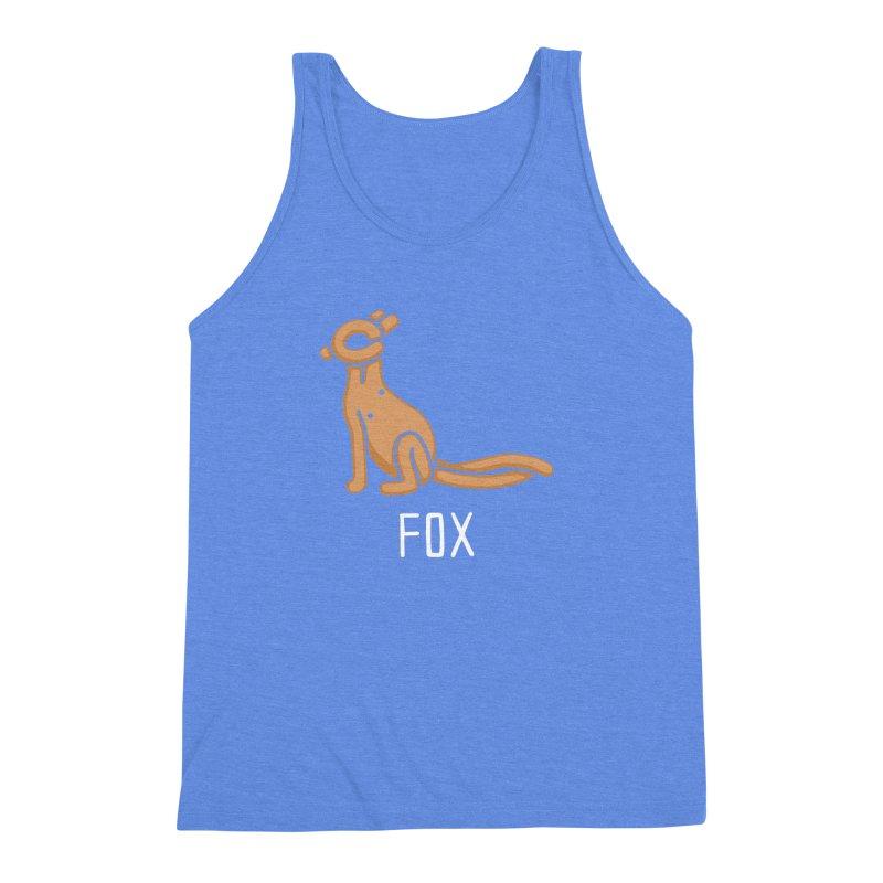 Fox (Not an Octopus) Men's Triblend Tank by Gyledesigns' Artist Shop