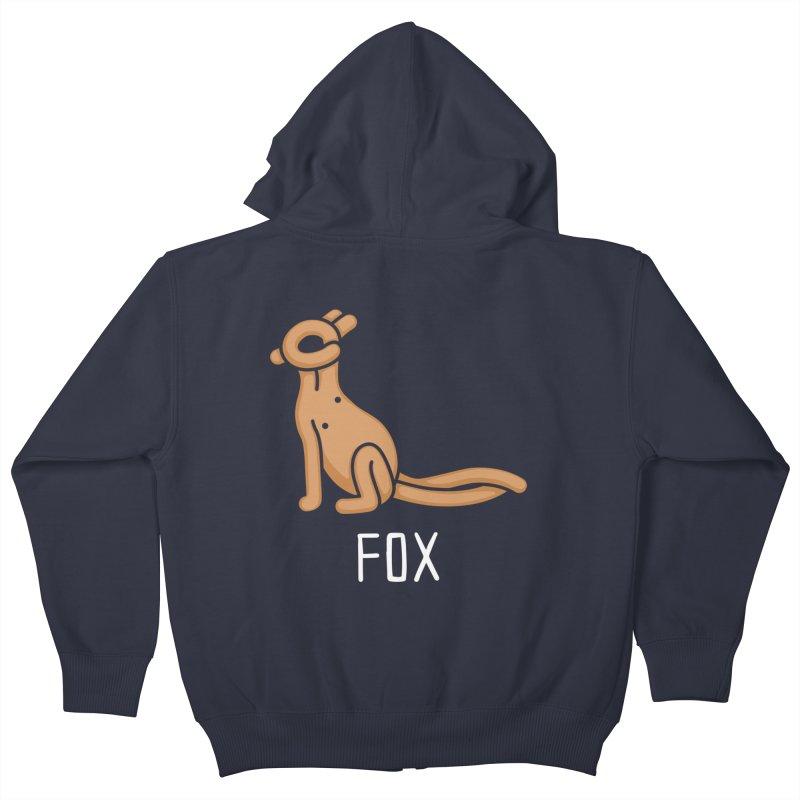 Fox (Not an Octopus) Kids Zip-Up Hoody by Gyledesigns' Artist Shop