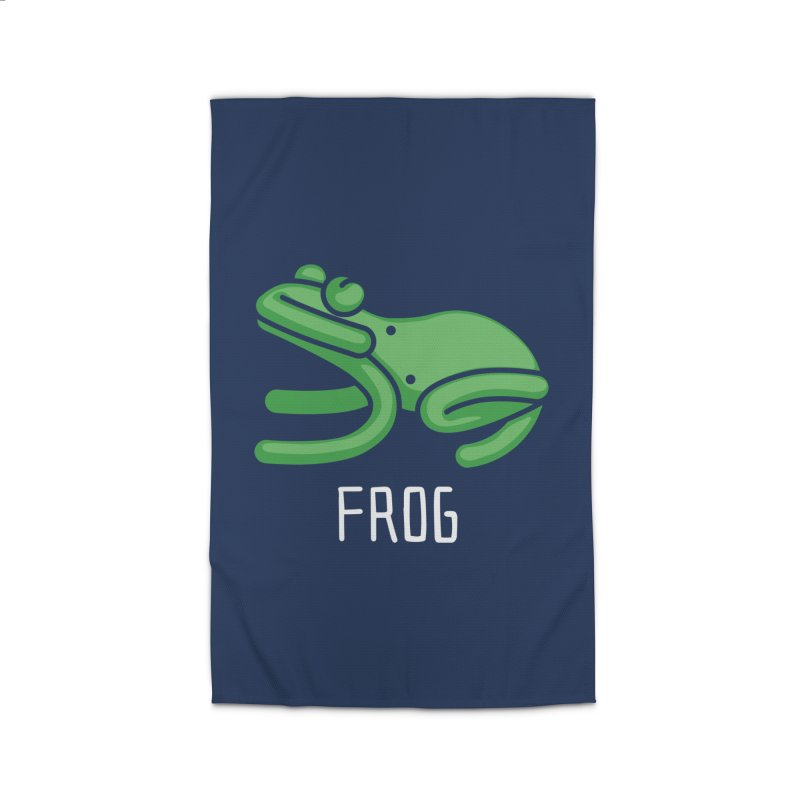 Frog (Not an Octopus) Home Rug by Gyledesigns' Artist Shop