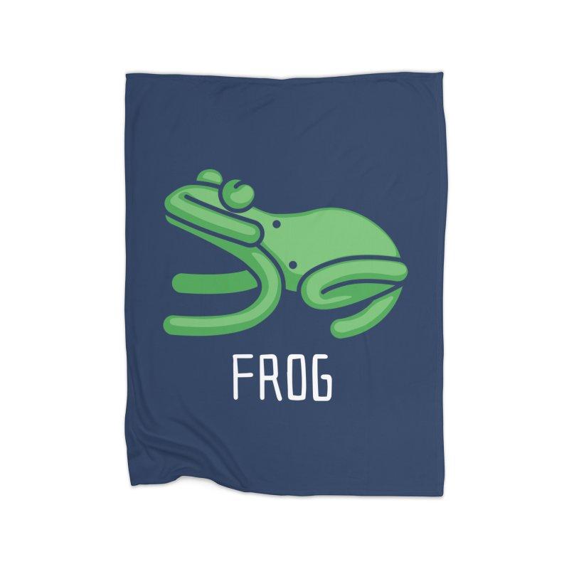Frog (Not an Octopus) Home Blanket by Gyledesigns' Artist Shop