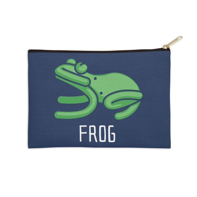 Frog (Not an Octopus) Accessories Zip Pouch by Gyledesigns' Artist Shop