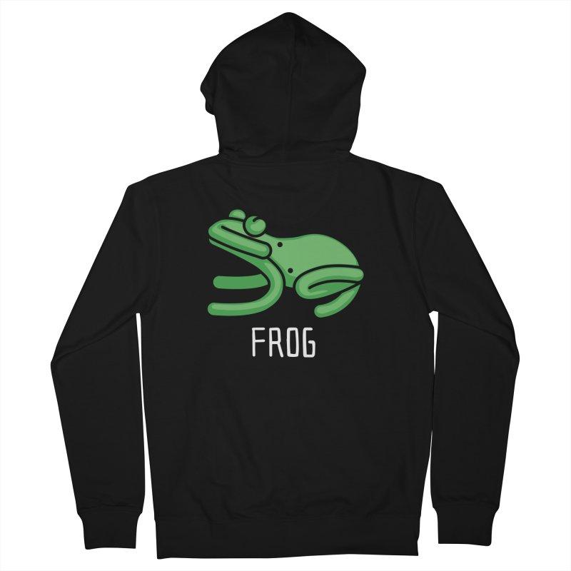 Frog (Not an Octopus) Men's Zip-Up Hoody by Gyledesigns' Artist Shop