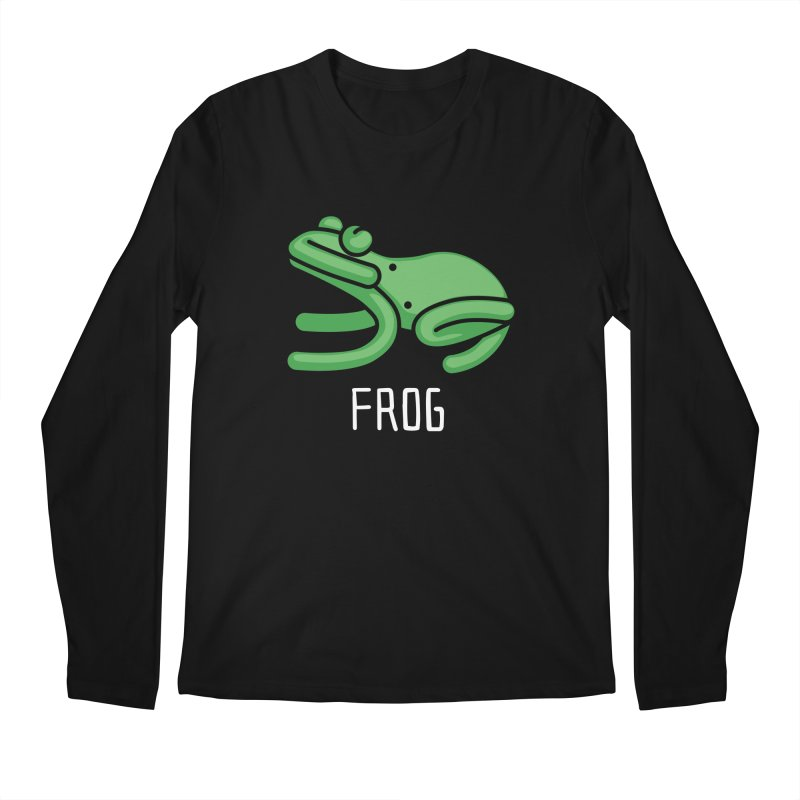 Frog (Not an Octopus) Men's Longsleeve T-Shirt by Gyledesigns' Artist Shop