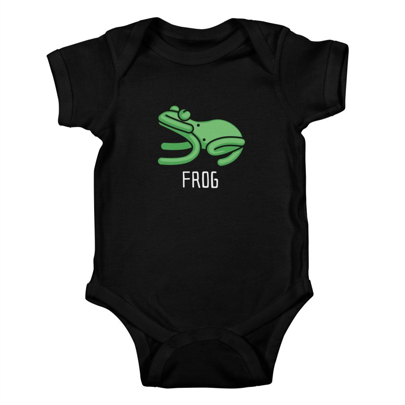 Frog (Not an Octopus) Kids Baby Bodysuit by Gyledesigns' Artist Shop