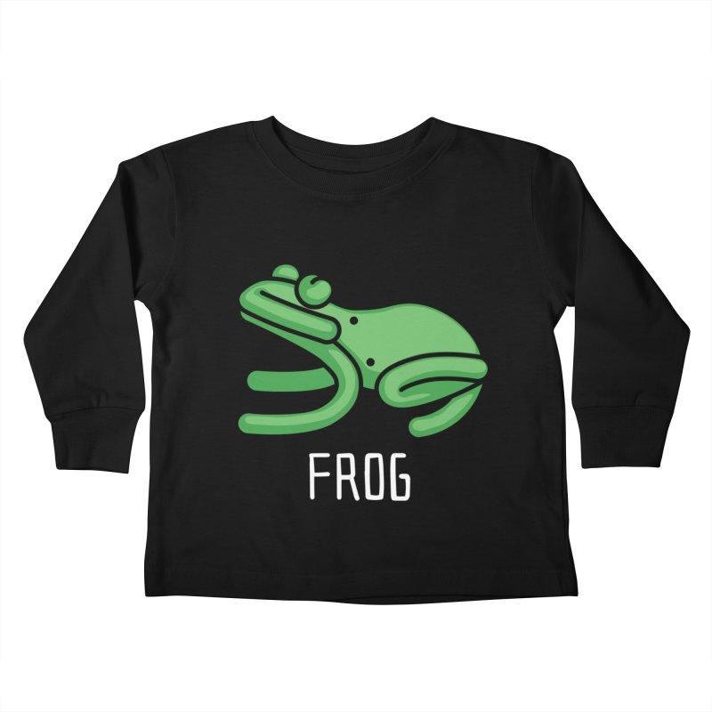 Frog (Not an Octopus) Kids Toddler Longsleeve T-Shirt by Gyledesigns' Artist Shop