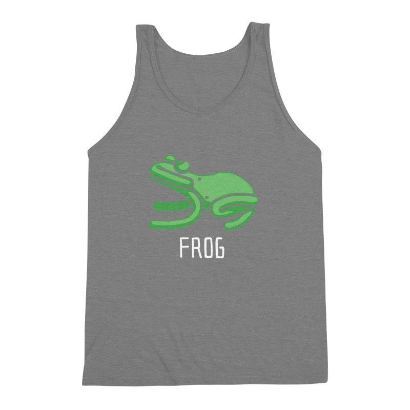 Frog (Not an Octopus) Men's Triblend Tank by Gyledesigns' Artist Shop