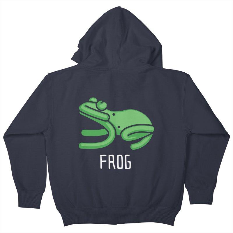 Frog (Not an Octopus) Kids Zip-Up Hoody by Gyledesigns' Artist Shop