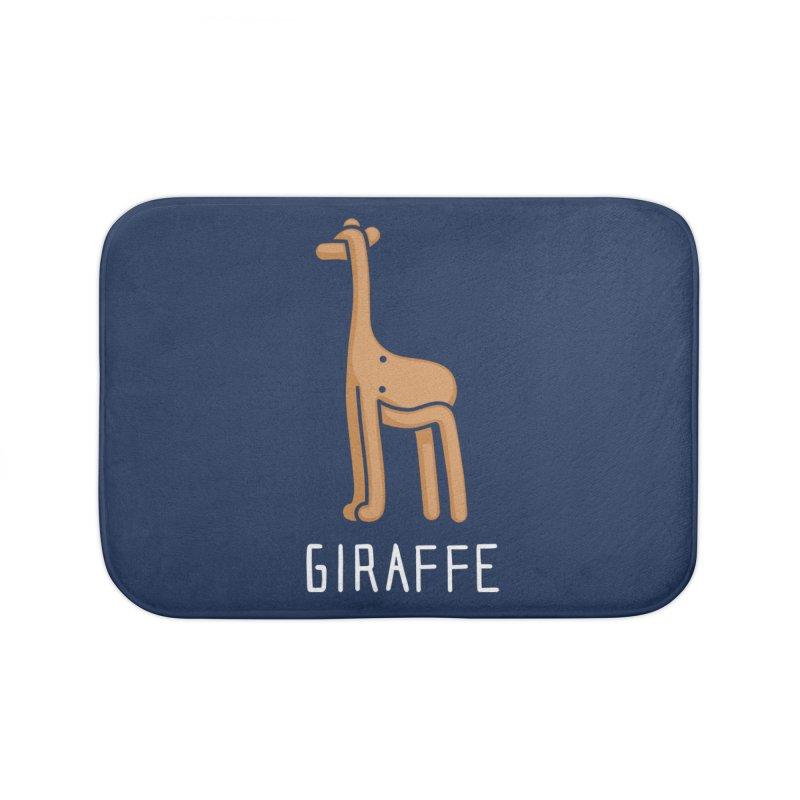 Giraffe (Not an Octopus) Home Bath Mat by Gyledesigns' Artist Shop