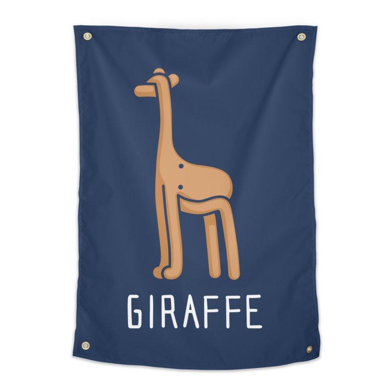 Giraffe (Not an Octopus) Home Tapestry by Gyledesigns' Artist Shop