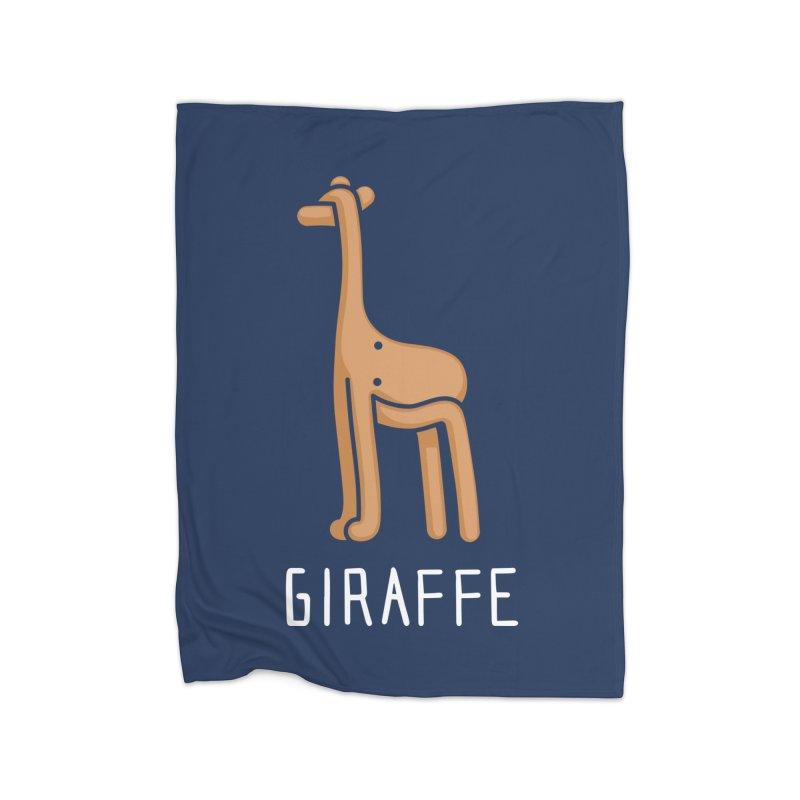Giraffe (Not an Octopus) Home Blanket by Gyledesigns' Artist Shop