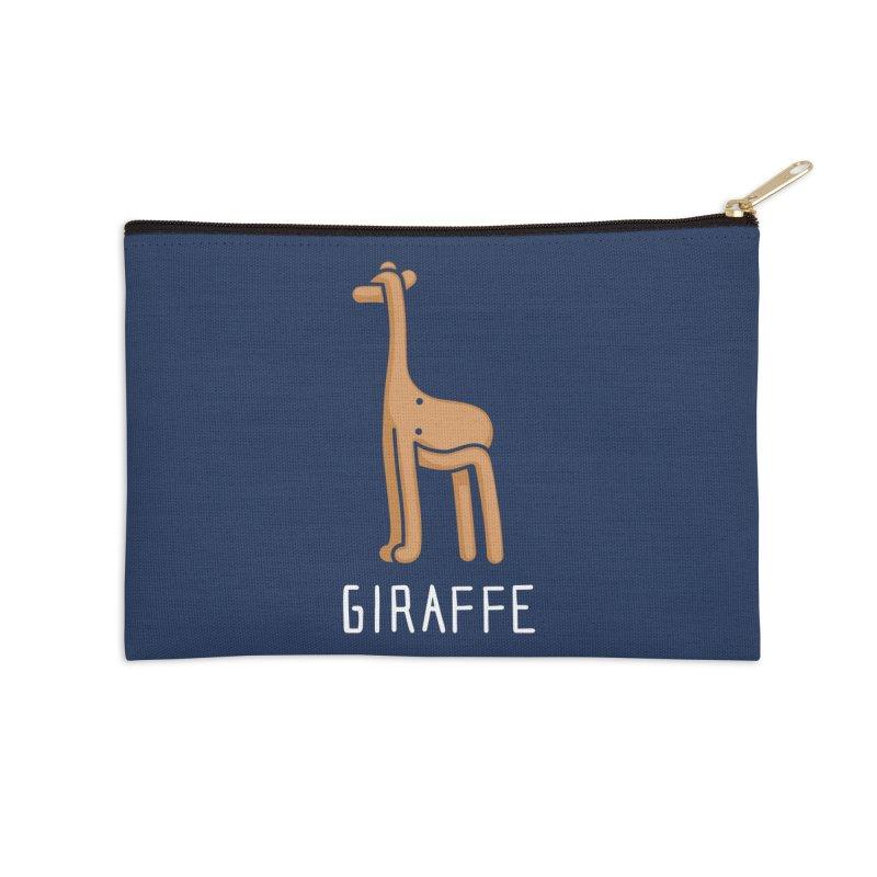 Giraffe (Not an Octopus) Accessories Zip Pouch by Gyledesigns' Artist Shop