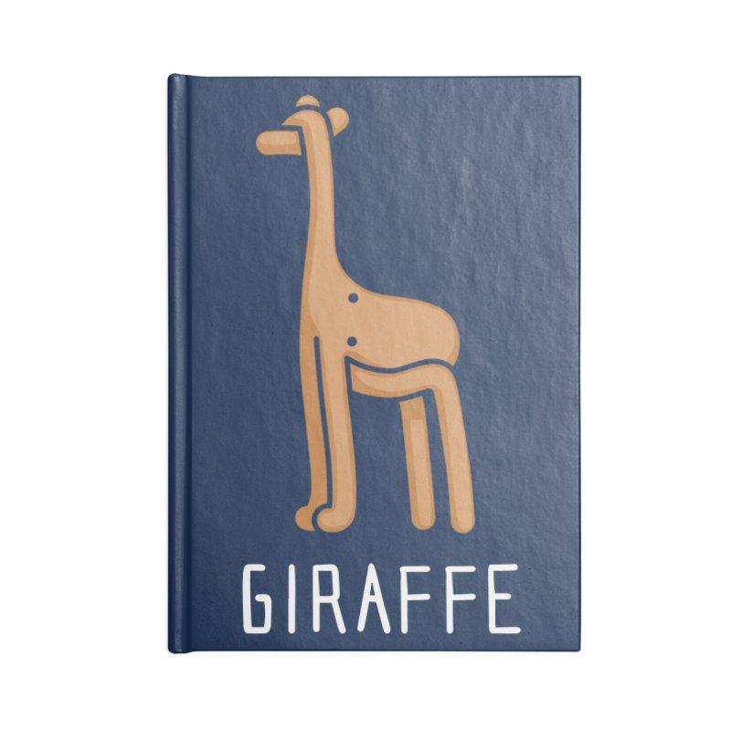 Giraffe (Not an Octopus) Accessories Notebook by Gyledesigns' Artist Shop