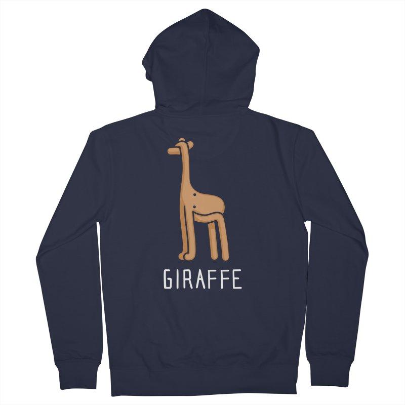 Giraffe (Not an Octopus) Men's Zip-Up Hoody by Gyledesigns' Artist Shop