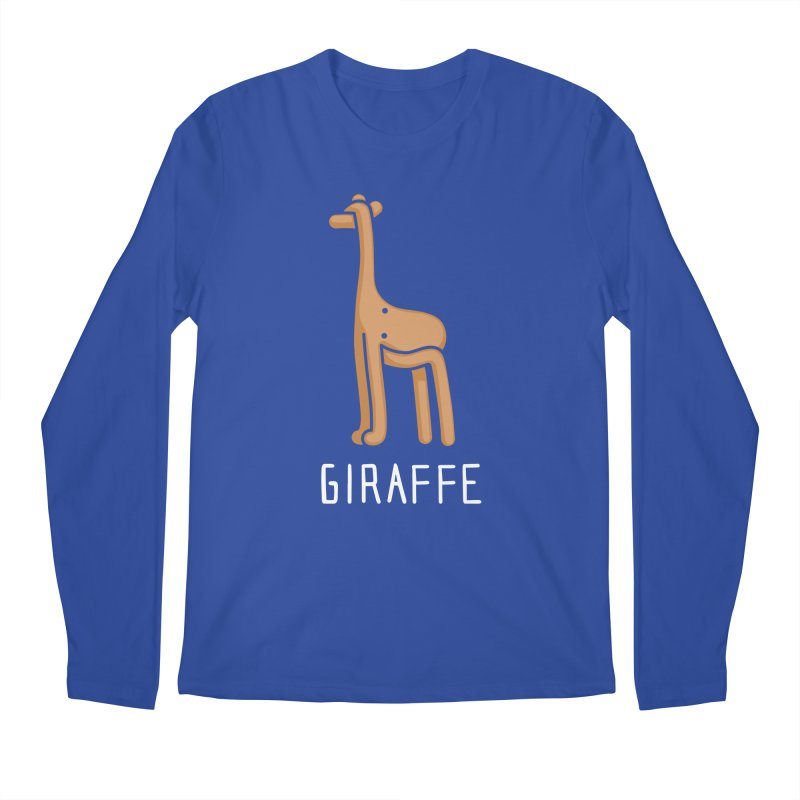 Giraffe (Not an Octopus) Men's Longsleeve T-Shirt by Gyledesigns' Artist Shop