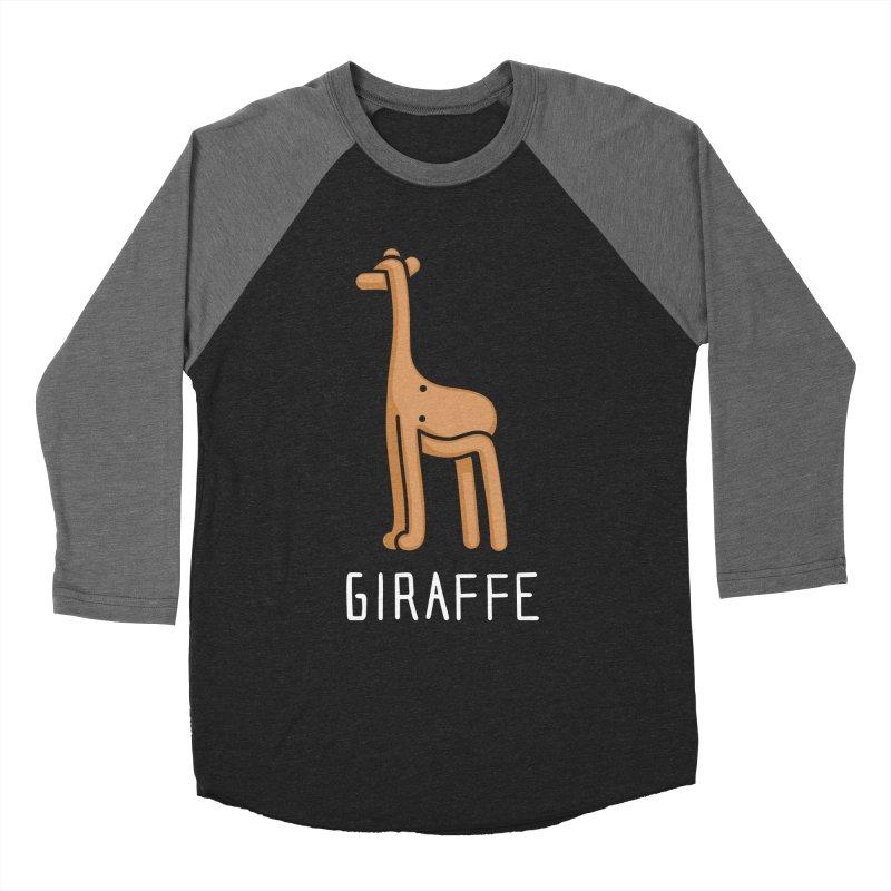 Giraffe (Not an Octopus) Men's Baseball Triblend T-Shirt by Gyledesigns' Artist Shop