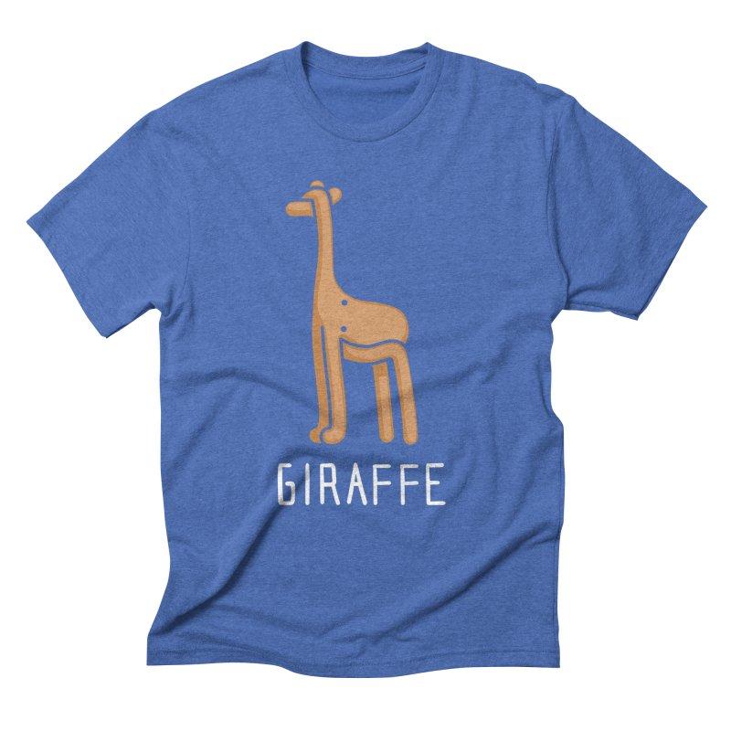 Giraffe (Not an Octopus) Men's Triblend T-shirt by Gyledesigns' Artist Shop