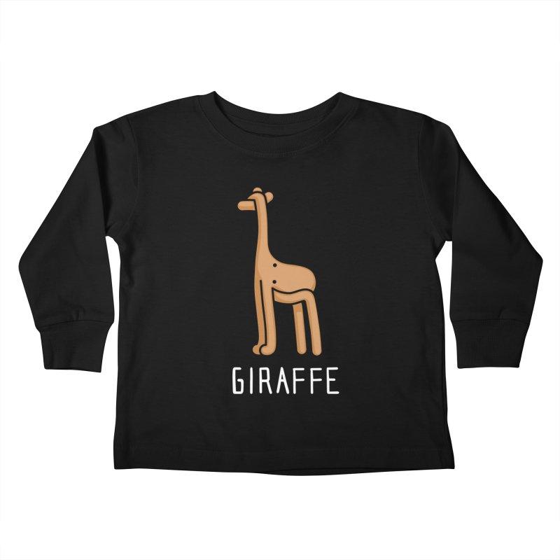 Giraffe (Not an Octopus) Kids Toddler Longsleeve T-Shirt by Gyledesigns' Artist Shop