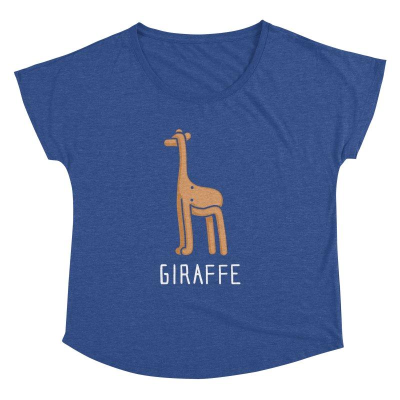 Giraffe (Not an Octopus) Women's Dolman by Gyledesigns' Artist Shop
