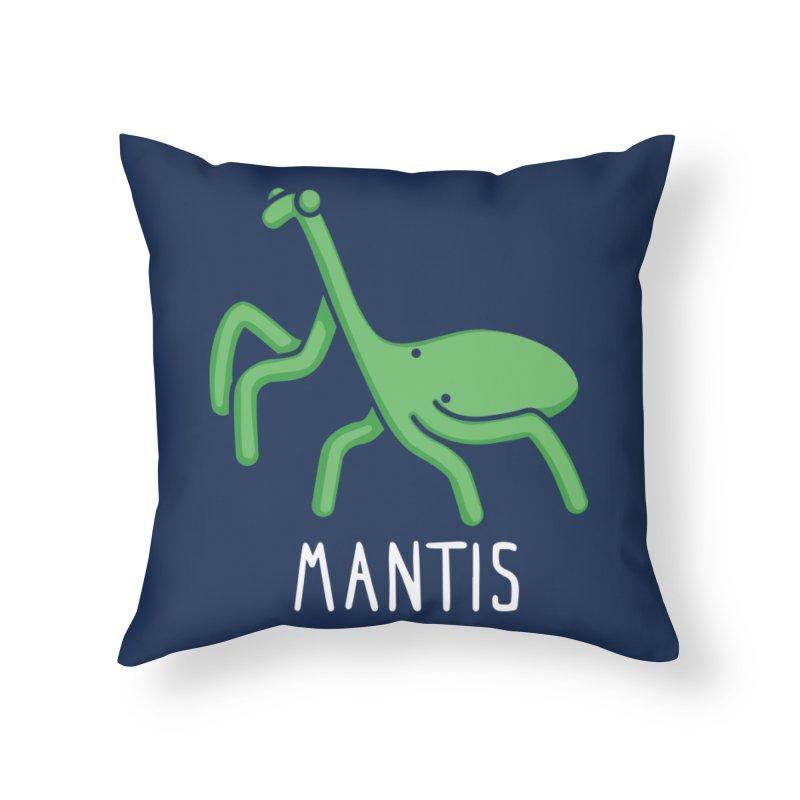 Mantis (Not an Octopus) Home Throw Pillow by Gyledesigns' Artist Shop