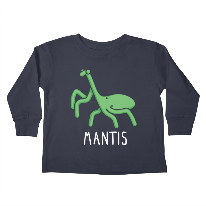 Mantis (Not an Octopus) Kids Toddler Longsleeve T-Shirt by Gyledesigns' Artist Shop