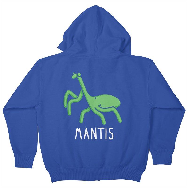 Mantis (Not an Octopus) Kids Zip-Up Hoody by Gyledesigns' Artist Shop